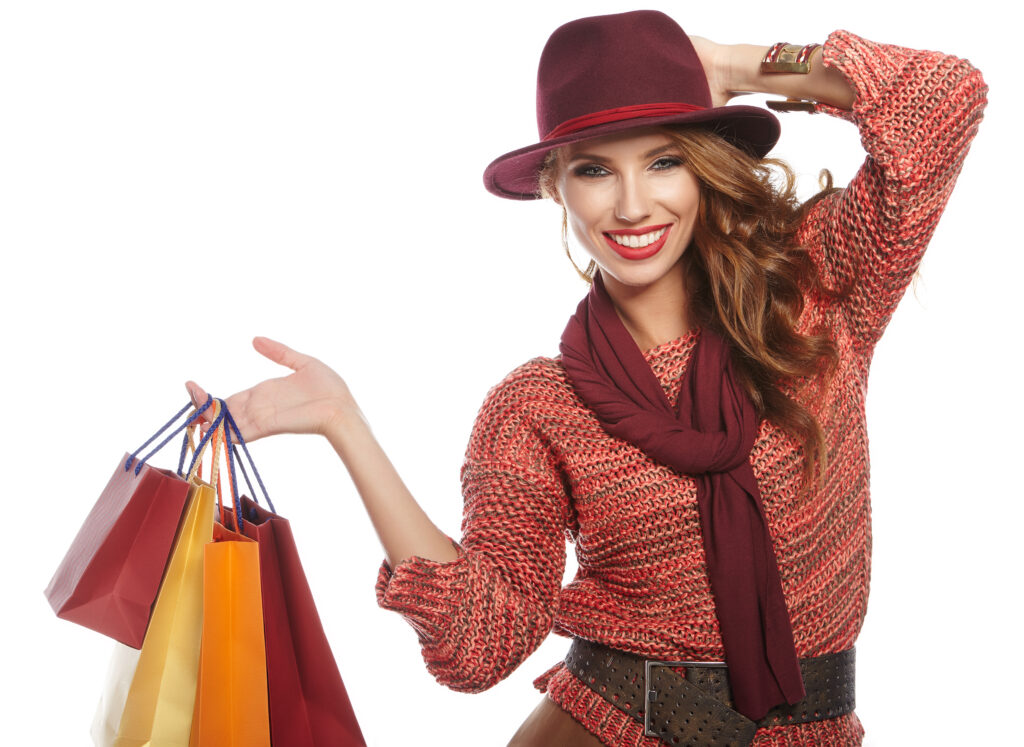 woman with shopping bags (1)