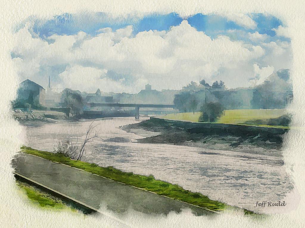 Boyne Path To Drogheda wm
