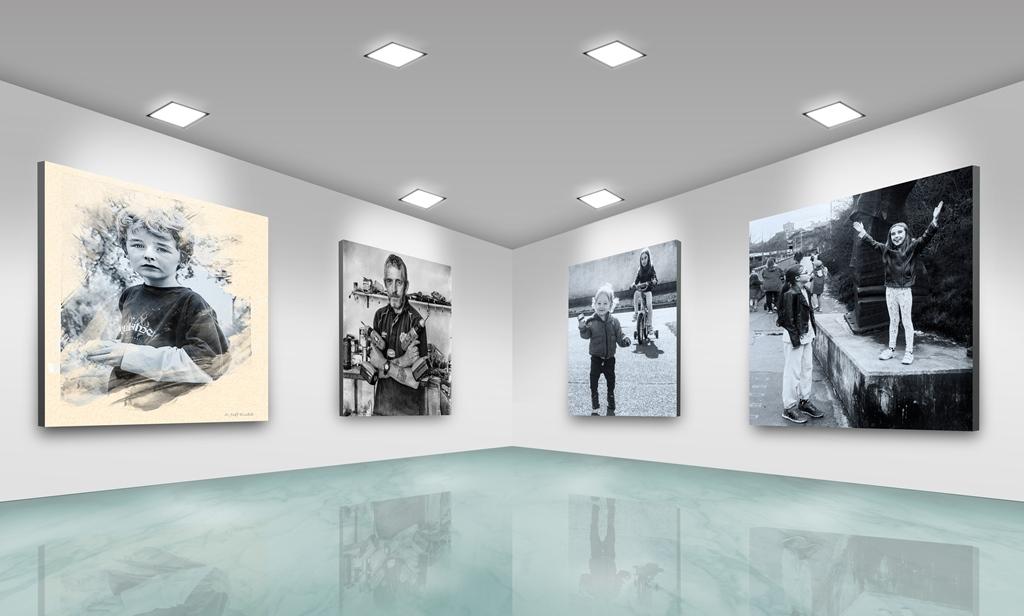 Photo Frames On Art Wall 2 (2) sm